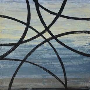 Tangled Loops II Digital Print by Avondet, Natalie,Abstract