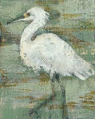 Textured Heron I Digital Print by Goldberger, Jennifer,Impressionism