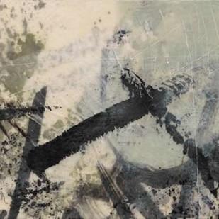 Sumi-e and Wax II Digital Print by Goldberger, Jennifer,Abstract