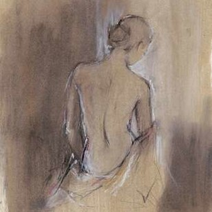 Contemporary Draped Figure II Digital Print by Harper, Ethan,Impressionism