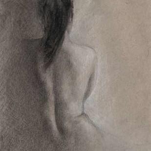 Chiaroscuro Figure Drawing II Digital Print by Harper, Ethan,Impressionism