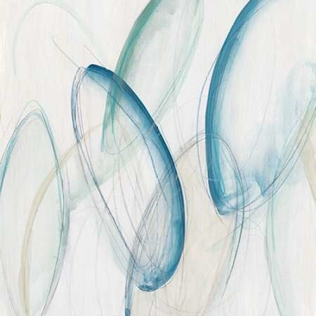 Discus I Digital Print by Vess, June Erica,Abstract