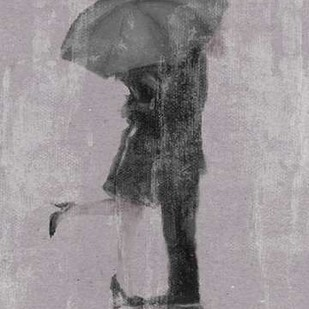 Rain Romance I Digital Print by Studio W,Impressionism
