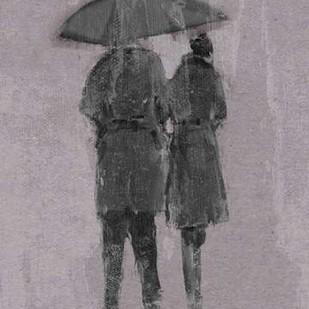 Rain Romance II Digital Print by Studio W,Impressionism