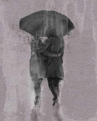 Rain Romance III Digital Print by Studio W,Impressionism