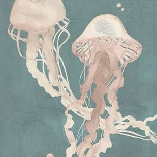 Jellyfish Dance I Digital Print by Popp, Grace,Impressionism