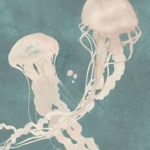 Jellyfish Dance II Digital Print by Popp, Grace,Impressionism