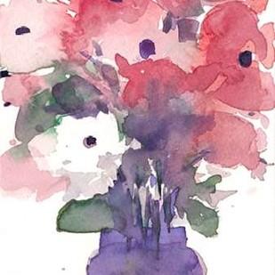 Between the Red III Digital Print by Dixon, Samuel,Impressionism