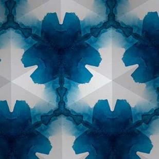 Sapphire Frost II Digital Print by Stramel, Renee W.,Abstract