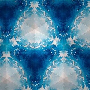 Sapphire Frost III Digital Print by Stramel, Renee W.,Abstract