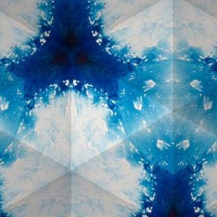 Sapphire Frost IV Digital Print by Stramel, Renee W.,Abstract