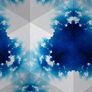 Sapphire Frost V Digital Print by Stramel, Renee W.,Abstract