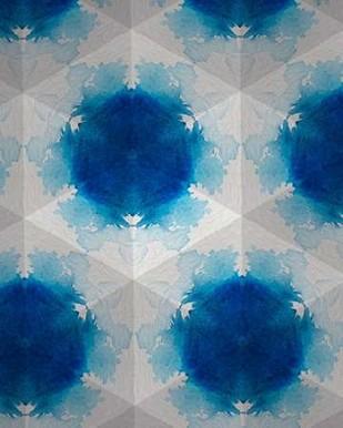 Sapphire Frost VI Digital Print by Stramel, Renee W.,Abstract