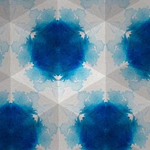 Sapphire Frost VI Digital Print by Stramel, Renee W.,Abstract