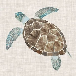 Sea Turtle II Digital Print by McCavitt, Naomi,Decorative