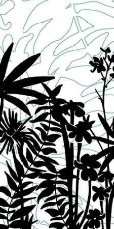 Rainforest Ferns I Digital Print by Fagalde, Jarman,Decorative