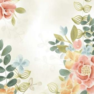 Soft Flower Collection II Digital Print by Vess, June Erica,Decorative