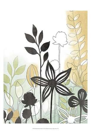 Sketchbook Garden I Digital Print by Vess, June Erica,Decorative