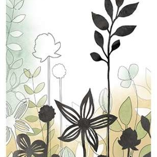 Sketchbook Garden II Digital Print by Vess, June Erica,Decorative