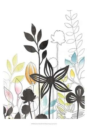 Sketchbook Garden III Digital Print by Vess, June Erica,Decorative