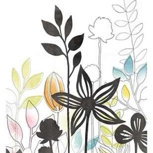 Sketchbook Garden III Digital Print by Vess, June Erica,Decorative