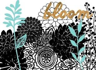 Lacy Garden II Digital Print by Studio W,Decorative