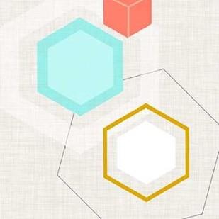Mod Geometry I Digital Print by Fagalde, Jarman,Abstract