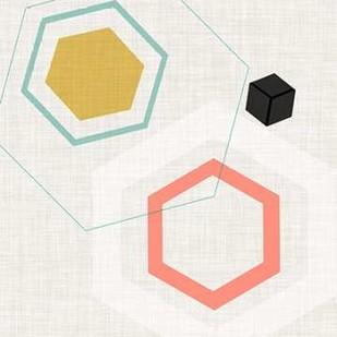 Mod Geometry II Digital Print by Fagalde, Jarman,Abstract