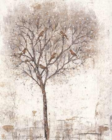 Tree of Birds II Digital Print by Otoole, Tim,Impressionism