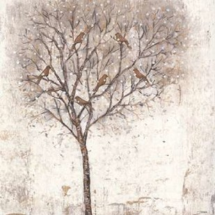 Tree of Birds II Digital Print by Otoole, Tim,Impressionism