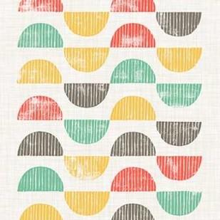 Mod Block Prints I Digital Print by Popp, Grace,Decorative