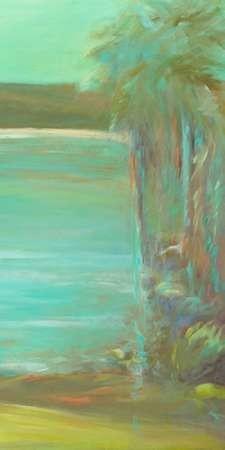 Bahia Tranquila II Digital Print by Wilkins, Suzanne,Impressionism
