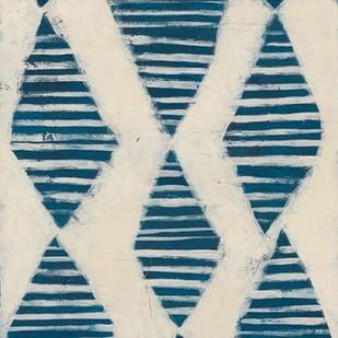 Indigo Signals VII Digital Print by Vess, June Erica,Decorative