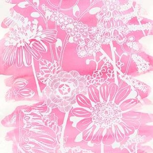 Fuchsia Bouquet II Digital Print by Zarris, Chariklia,Decorative