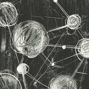Molecular Fusion I Digital Print by Harper, Ethan,Geometrical