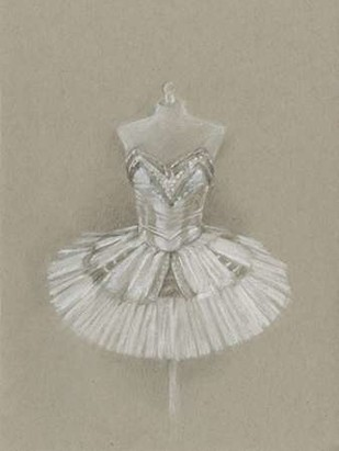 Ballet Dress I Digital Print by Harper, Ethan,Illustration