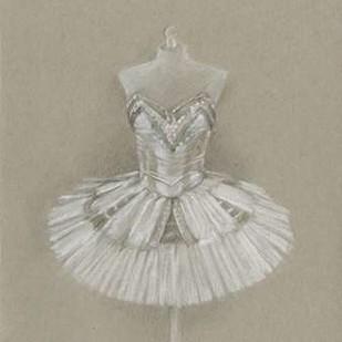 Ballet Dress I Digital Print by Harper, Ethan,Illustration