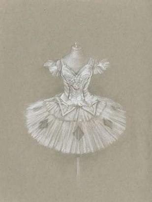 Ballet Dress II Digital Print by Harper, Ethan,Illustration