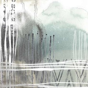 Blue Ridge I Digital Print by Vess, June Erica,Abstract