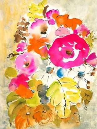 Flower Array II Digital Print by Minasian, Julia,Decorative
