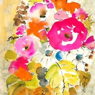 Flower Array II Digital Print by Minasian, Julia,Decorative