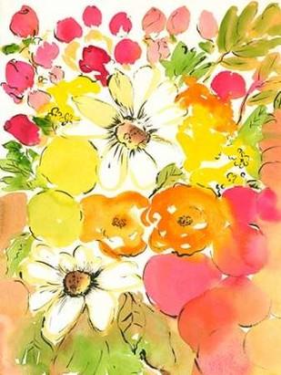Flower Array III Digital Print by Minasian, Julia,Decorative
