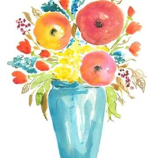 Flower Vase II Digital Print by Minasian, Julia,Decorative