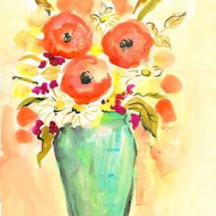Flower Vase III Digital Print by Minasian, Julia,Decorative