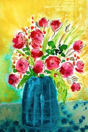 Bright Arrangement I Digital Print by Minasian, Julia,Decorative