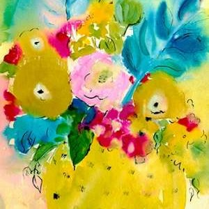 Bright Arrangement IV Digital Print by Minasian, Julia,Decorative