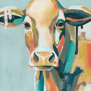 Colorful Cows I Digital Print by Popp, Grace,Decorative
