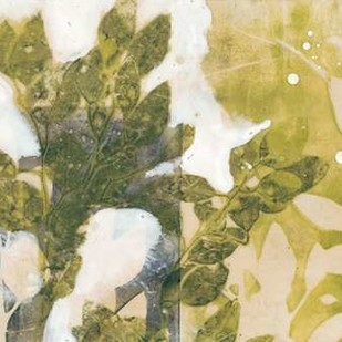 Leaf Spray II Digital Print by Goldberger, Jennifer,Impressionism