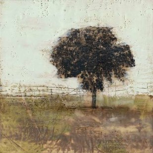 Tree in the Meadow I Digital Print by Goldberger, Jennifer,Impressionism