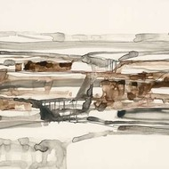 Stark Neutrals I Digital Print by Goldberger, Jennifer,Abstract